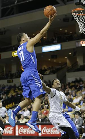 No. 22 Memphis holds off UCF 69-59