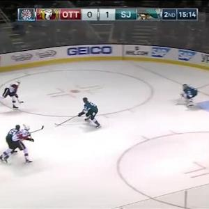 Antti Niemi Save on Milan Michalek (04:50/2nd)