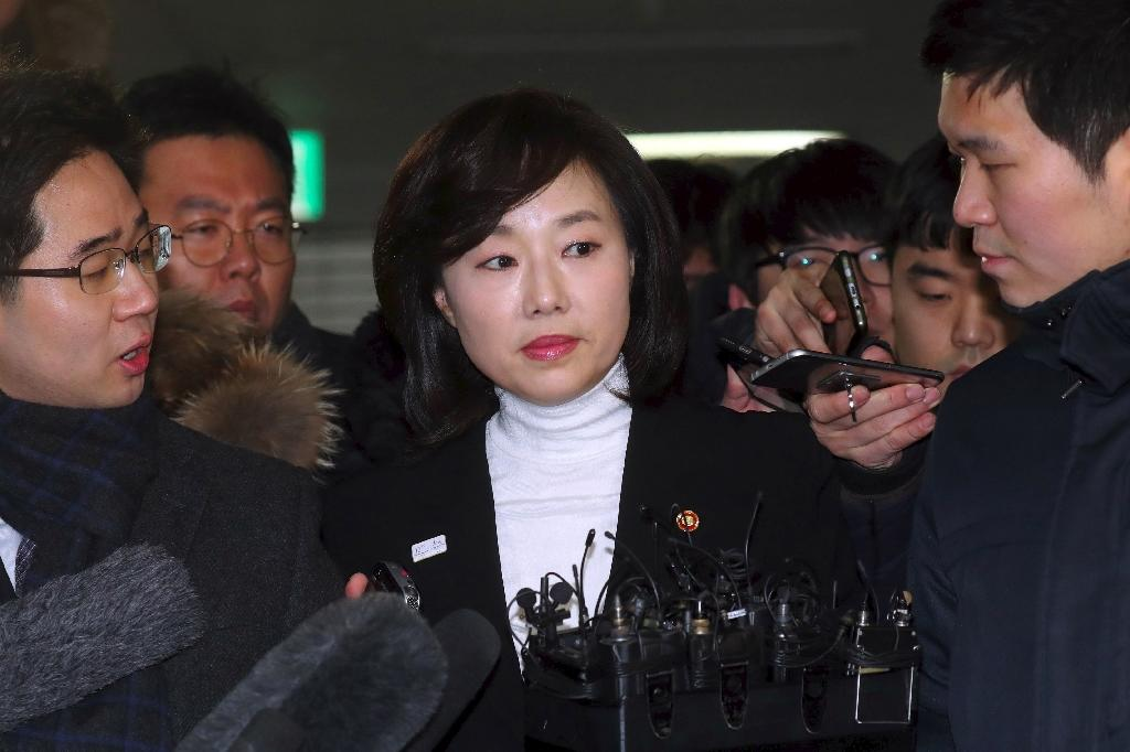 S. Korea minister resigns after arrest over arts blacklist