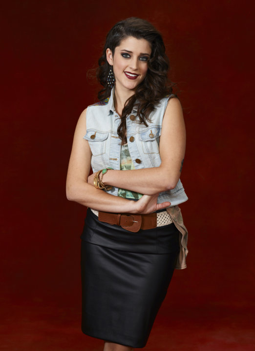 "Lindsey Pavao (Team Christina) competes in ""The Voice."""