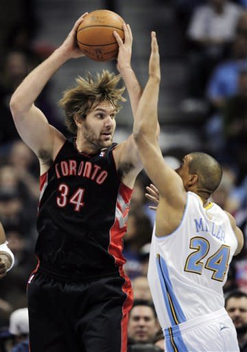 Nuggets win 6th straight, 96-81 over Toronto