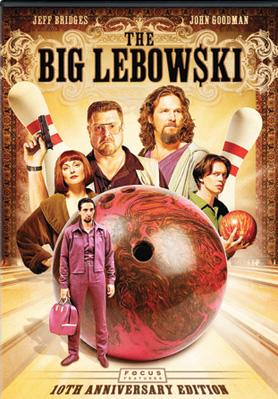 Box art for the 10th Anniversary Limited Edition DVD of Universal Pictures' The Big Lebowski