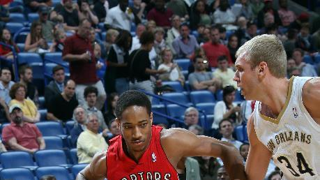 DeRozan leads Raptors past Pelicans 107-100