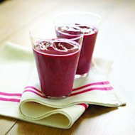 Cran-Berry Green-Tea Smoothie