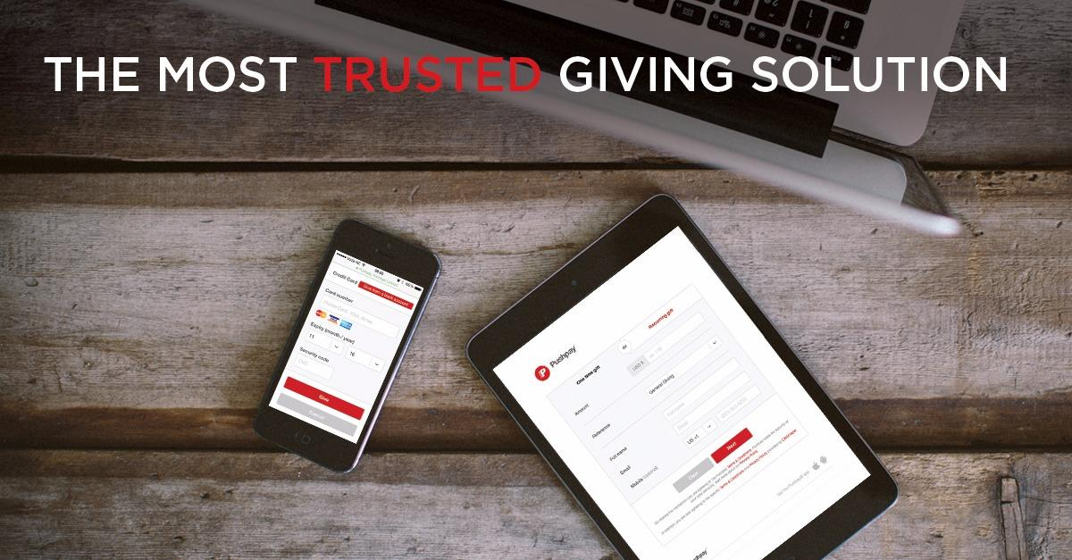 The Most Trusted Giving Solution