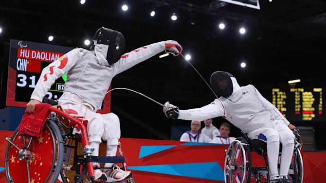 2012 London Paralympics - Day 10 - Wheelchair Fencing