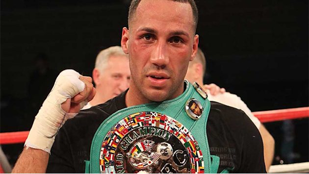 Boxing - DeGale moves closer to world title shot after Khatchikian stoppage