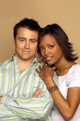Matt LeBlanc and Aisha Tyler in NBC's Friends 
