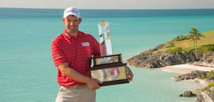Harrington wins PGA Grand Slam by one shot
