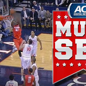 Syracuse's C.J. Fair Lobs To Rakeem Christmas For Alley-Oop | ACC Must See Moment