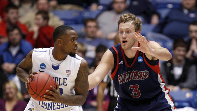 NCAA Basketball: NCAA Tournament-Middle Tennessee vs St. Mary's