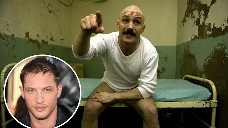 Bald for a role 2011 Gallery Tom Hardy