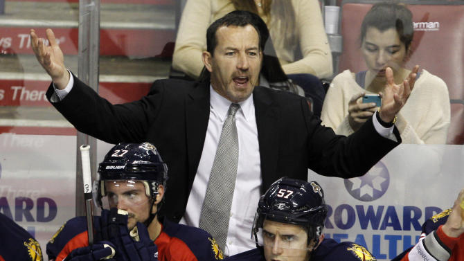 Panthers fire coach Kevin Dineen, 2 assistants