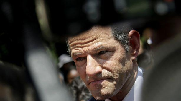 It Took Eliot Spitzer's Comeback Tour This Long to Get Sued