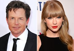 Michael J. Fox, Taylor Swift  | Photo Credits: Steve Granitz/WireImage; Kevin Mazur/Getty Images