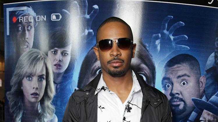 Damon Wayans Jr. seen at the Los Angeles World Premiere of Open Road Films 'A Haunted House 2,' on Wednesday, April 16, 2014 in Los Angeles. (Photo by Eric Charbonneau/Invision for Open Road Films/AP Images)