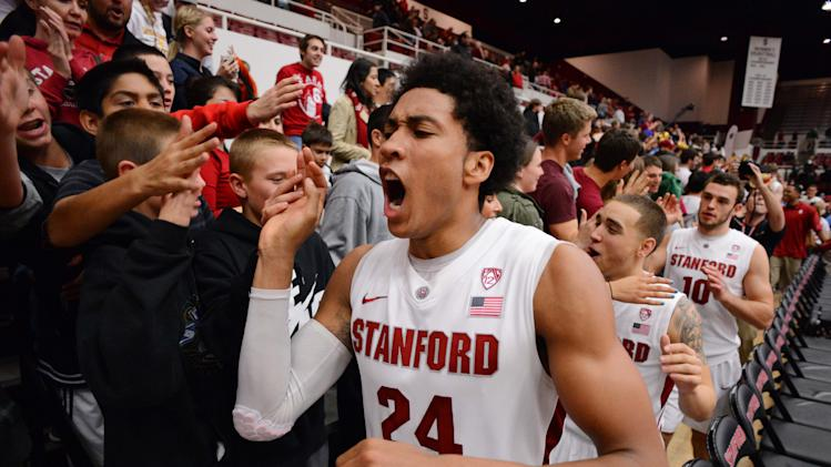 NCAA Basketball: Oregon at Stanford