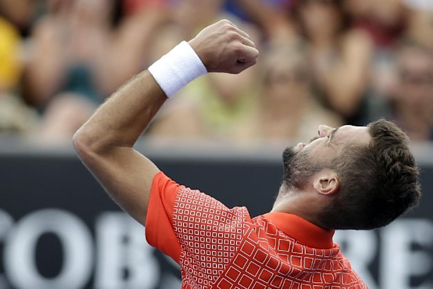 You never know what you'll get with flashy Frenchman Benoit Paire, but he rarely disappoints. AP Photo/Aijaz Rahi)