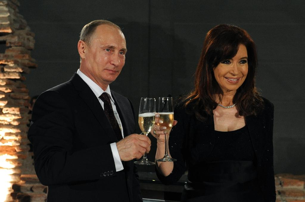 Argentina's Kirchner heads to Russia to press nuclear, trade deals