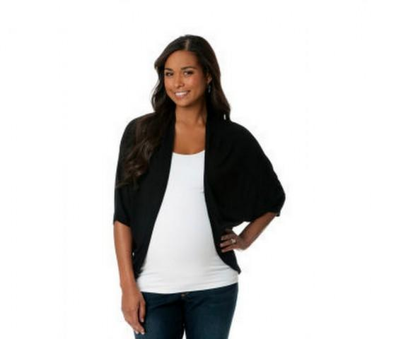Maternity Cropped Cardigan