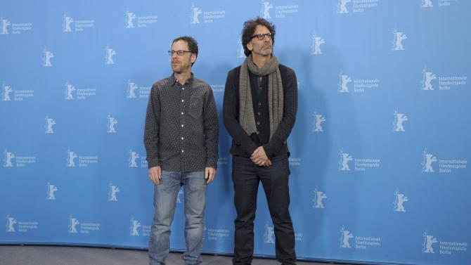 Directors Ethan and Joel Coen pose during photocall at 66th Berlinale International Film Festival in Berlin