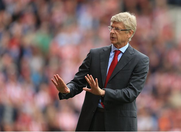 Arsene Wenger insists he will not panic over Arsenal's travails in front of goal