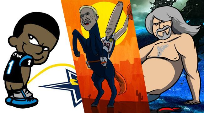 Let's Look Back On The Best NFL Cartoons Of The 2015 Season