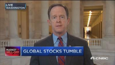 Senator to Yellen: Forget stock drop, normalize