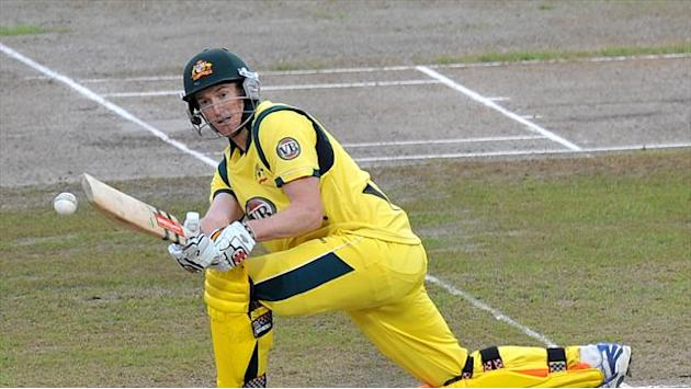 Cricket - Bailey leads Australia to big score
