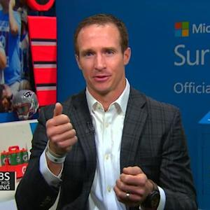 Drew Brees on technology used on sidelines