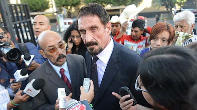 John McAfee Arrested in Guatemala (ABC News)