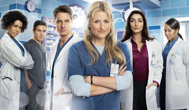 Mamie Gummer in The CW&#39;s &quot;Emily Owens, M.D.&quot;