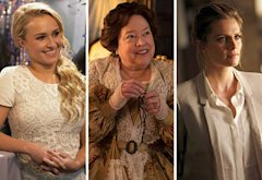 Hayden Panettiere, Kathy Bates, Stana Katic | Photo Credits: Katherine Bomboy-Thornton/ABC; Michele K. Short/FX; Randy Holmes/ABC