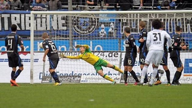 Saison 2012/2013: FSV Frankfurt vs. FC Ingolstadt