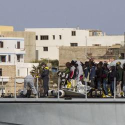 Some 1,400 Migrants Saved By Italy, France In Sea Off Libya