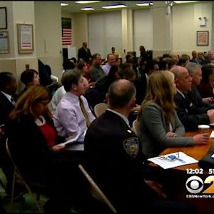 Officials Discuss Ebola Training For At-Risk NYC Employees