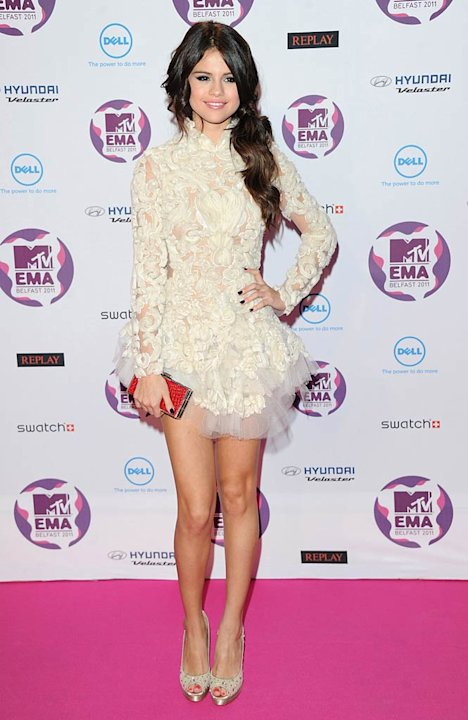 Selena Gomez MTV European Music Awards