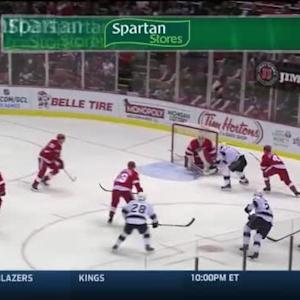 Jimmy Howard Save on Justin Williams (06:21/1st)