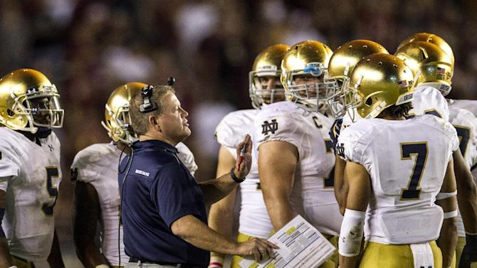 Notre Dame's Kelly regrets not putting champs away