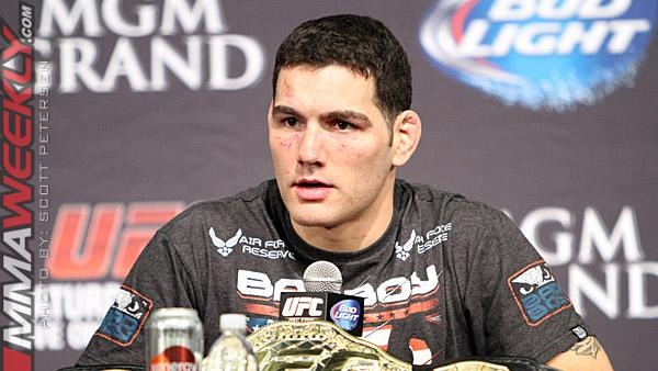 "Dana White on Chris Weidman: ""How is He Not No. 1 Pound-for-Pound if He Beats Vitor Belfort?"""