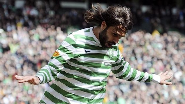 Georgios Samaras netted for Celtic