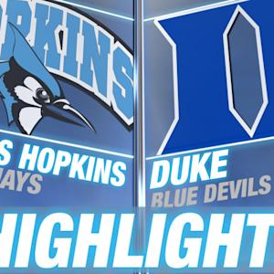 Johns Hopkins vs Duke | 2015 ACC Women's Lacrosse Highlights
