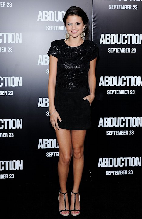 Abduction LA Premiere 2011 Selena Gomez