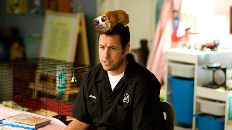Adam Sandler Bedtime Stories Production Stills Walt Disney 2008