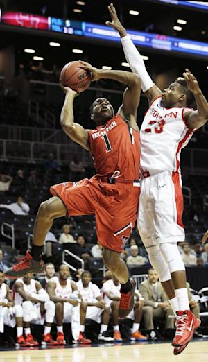 Texas Tech beats Houston 76-64 in Brooklyn