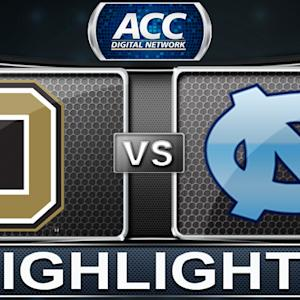 Oakland vs North Carolina | 2013 ACC Basketball Highlights