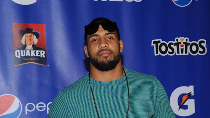 IMAGE DISTRIBUTED FOR PepisCo - Arian Foster of the Houston Texans attends the PepsiCo Pre-Super Bowl Party, at Masquerade Night Club, on Friday, Feb. 1, 2013 in New Orleans. (Photo by Evan Agostini/Invision for PepsiCo/AP Images)