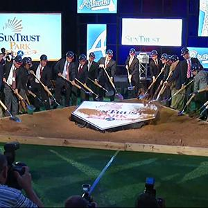 Braves Break Ground on New 'SunTrust Park'