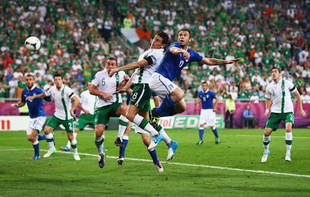 Antonio Cassano Of Italy Heads Getty Images