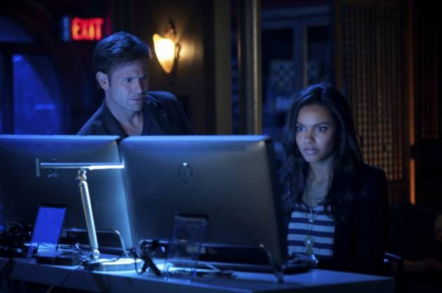 Matt Davis and Jessica Lucas in The CW&#39;s &#39;Cult&#39; -- The CW